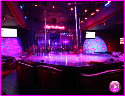 LIVE Webcam - DejaVu ShowGirls in Las Vegas, Nevada - Main Stage